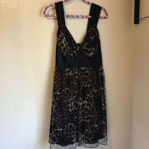 Torrid Sleeveless V Neck Animal Print Dress 12